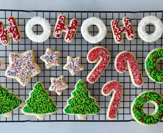 The Best Christmas Cookies justataste.com