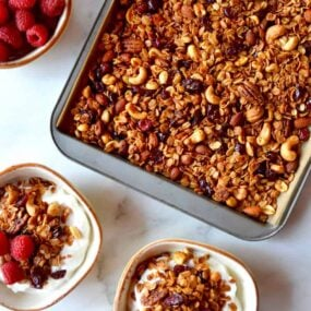 Easy Homemade Granola Recipe