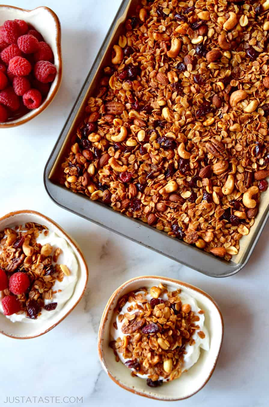 Just a Taste | Easy Homemade Granola