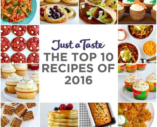 The Top 10 Recipes of 2016