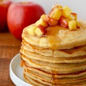 Cinnamon Applesauce Pancakes Recipe