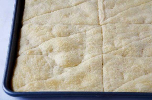 Crescent Roll Veggie Bars Recipe