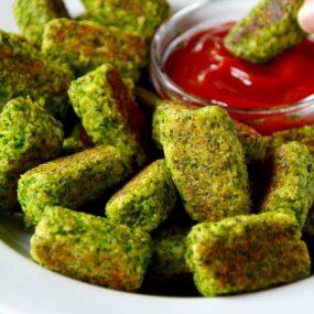 Easy Baked Broccoli Tots Recipe