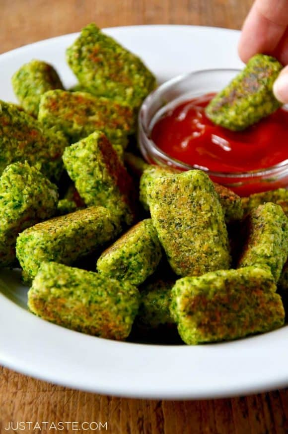 Easy Baked Broccoli Tots Just A Taste