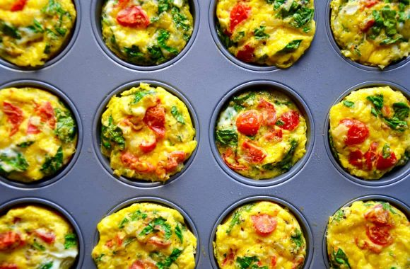 Healthy Breakfast Egg Muffins Recipe