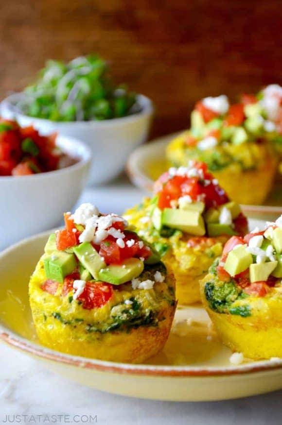 Just A Taste Healthy Breakfast Egg Muffins