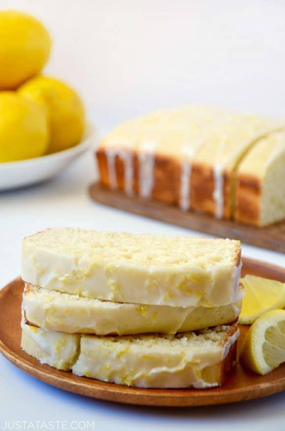 Glazed Lemon Bread - Citrus Fruits