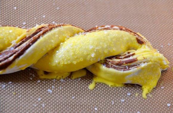 Chocolate Puff Pastry Twists Recipe