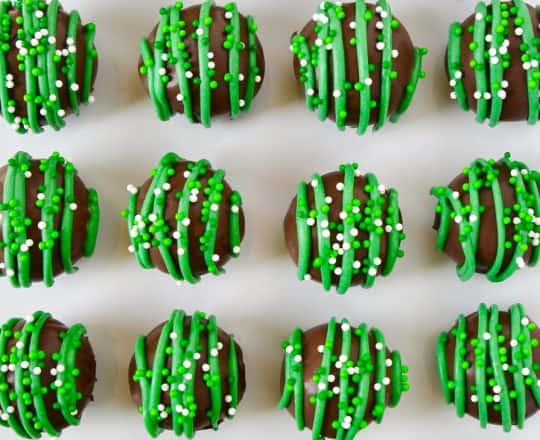 Thin Mint Cookie Truffles
