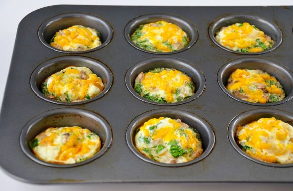 Freezer-Friendly Egg White Muffins Recipe