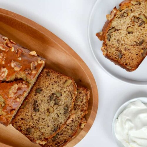 Greek yogurt banana bread just a taste forumfinder Image collections