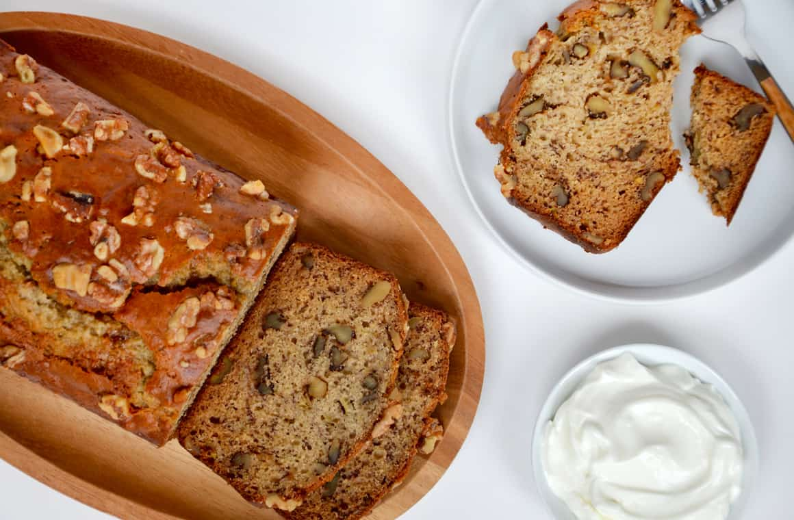 Greek Yogurt Banana Bread Just A Taste