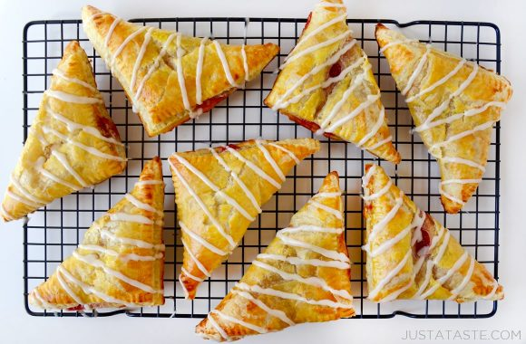 Strawberry Rhubarb Turnovers Recipe