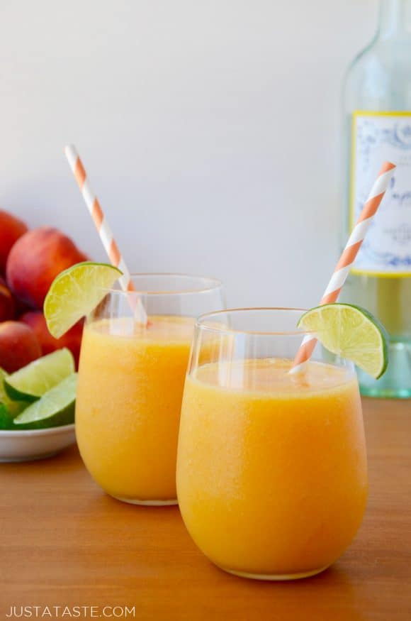 Peach Wine Slushies Recipe