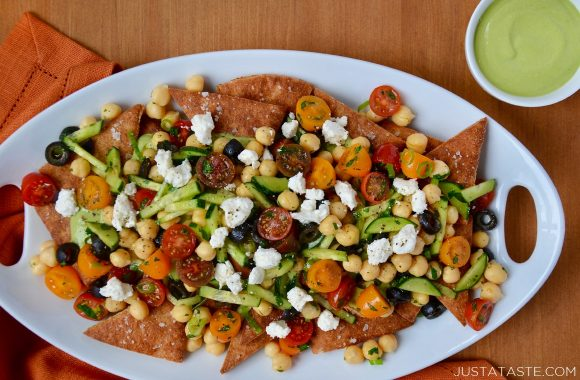 Fresh Greek Nachos Recipe