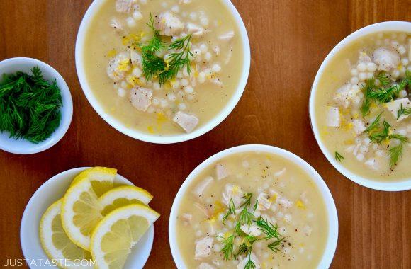 Quick Greek Lemon Chicken Soup Recipe