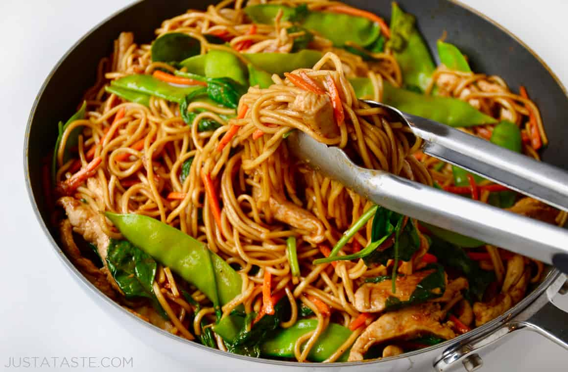 Easy chicken lo mein just a taste forumfinder Images