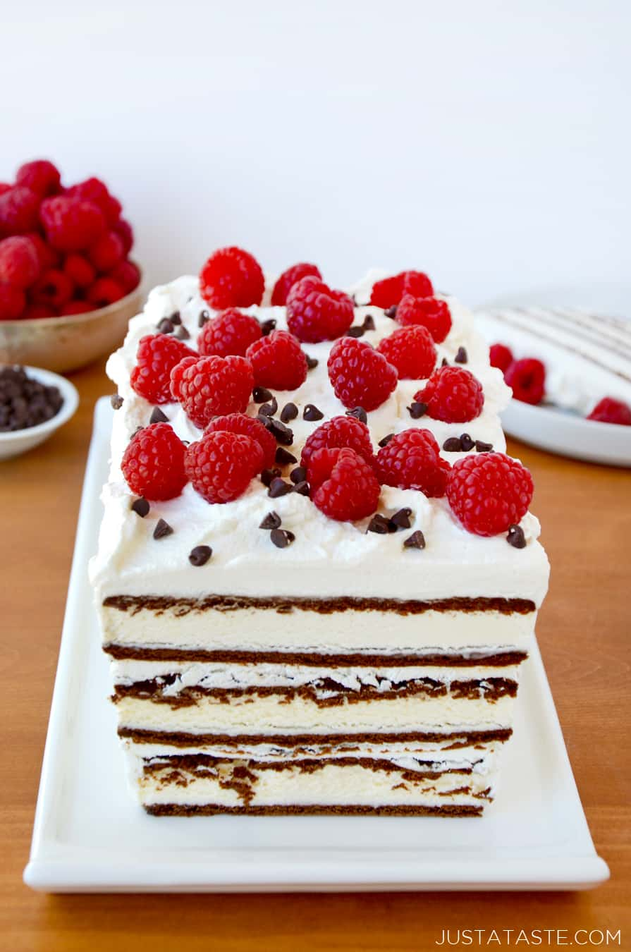 Easy Cake Recipes And Pictures : Easy Ice Cream Sandwich Cake Just a Taste