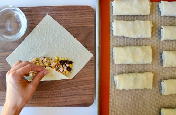 Baked Southwestern Egg Rolls Recipe