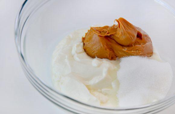 Peanut Butter Frozen Yogurt Pops Recipe