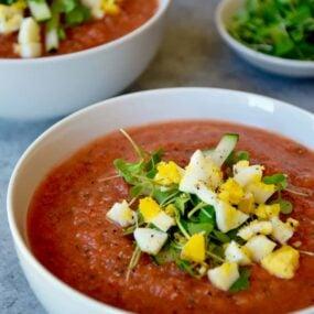 Quick and Easy Gazpacho Recipe