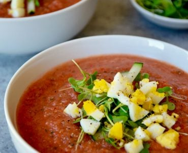 Fast and Fresh Gazpacho