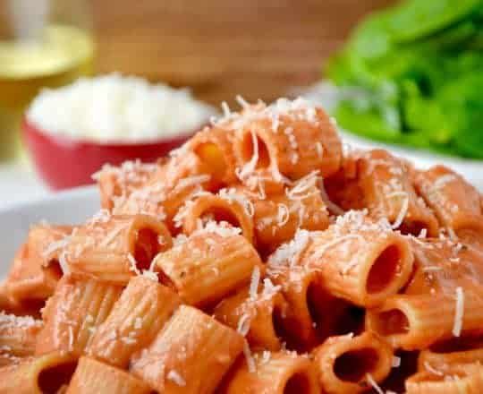 Quick and Easy Vodka Pasta Sauce
