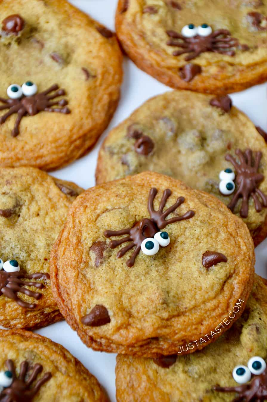 Halloween Chocolate Chip Cookies Just A Taste