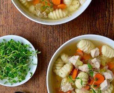 Easy Gnocchi Chicken Soup