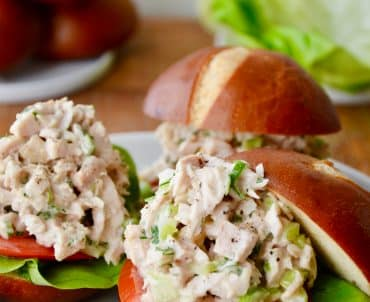 The Best Leftover Turkey Salad