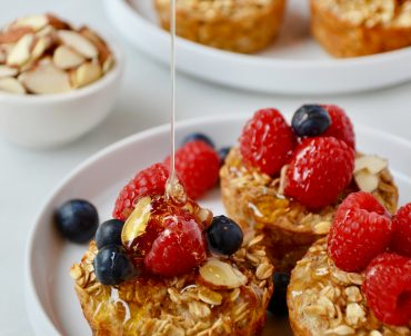 Baked Oatmeal Cups (Freezer-Friendly)