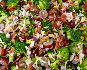 The Best Broccoli Salad with Bacon
