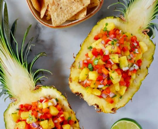 The Best Pineapple Salsa