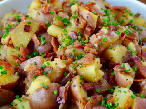 Potato Salad With Bacon Dressing Recipe