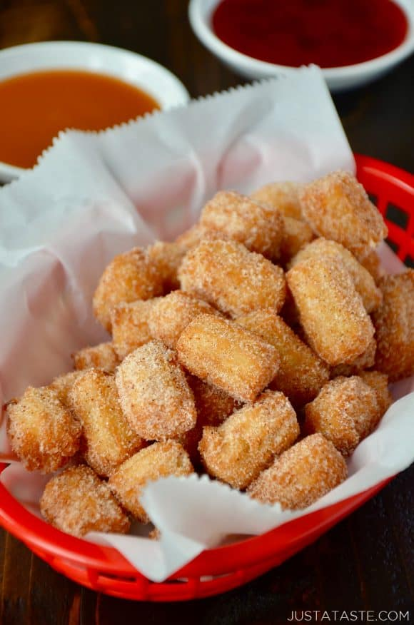 May 30, · And yes, the classic churro sticks are delicious but I think it's time for a new trend in churros. It's like the soft pretzels, yes they are delicious in the whole form, but there's something about the pretzel bites that's just easier.5/5(3).