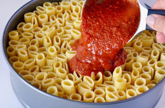 Easy Cheesy Rigatoni Pie Just A Taste