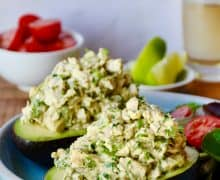 The Best Avocado Chicken Salad