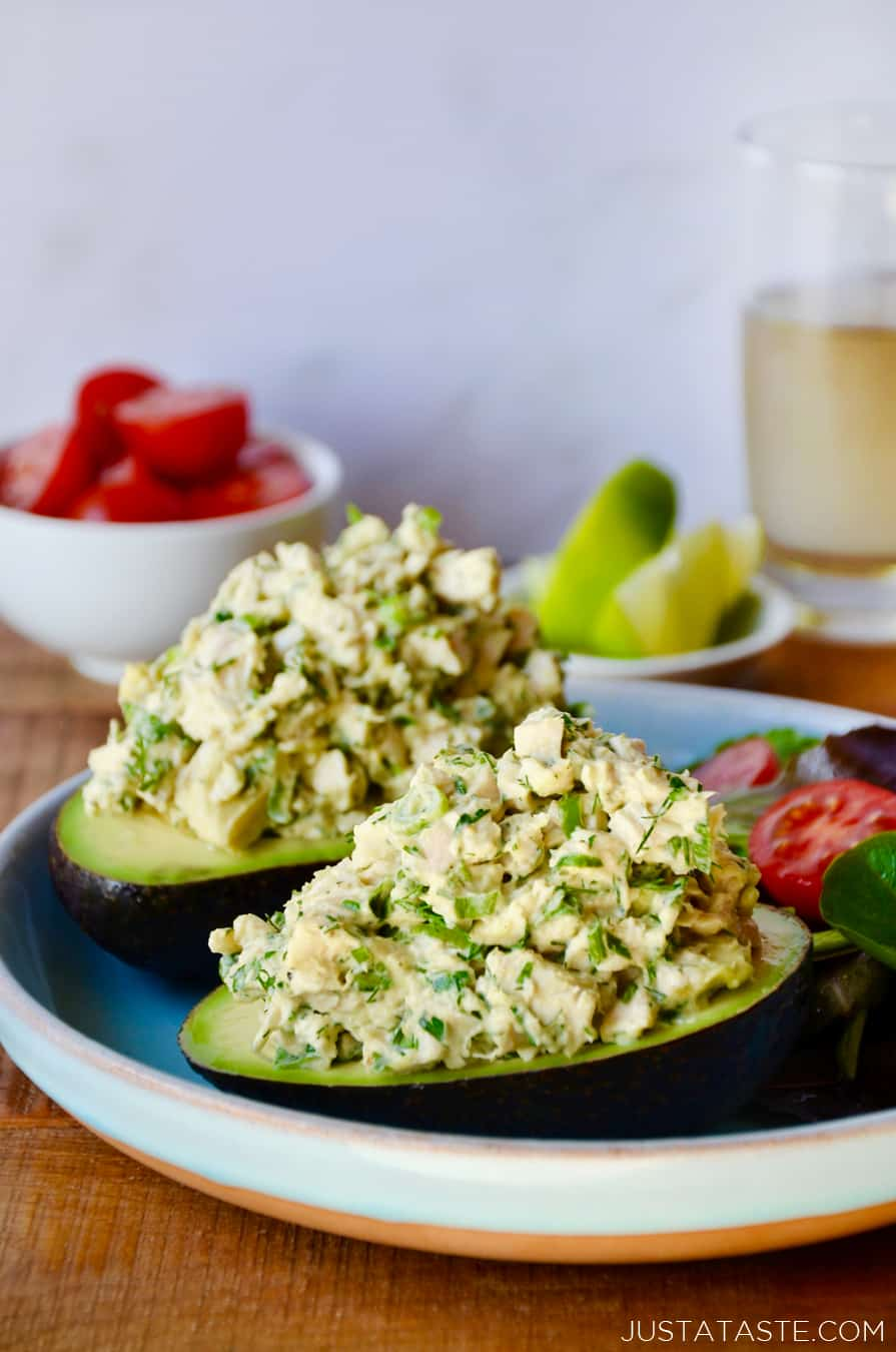 The Best Avocado Chicken Salad
