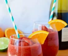 The Best Frozen Sangria