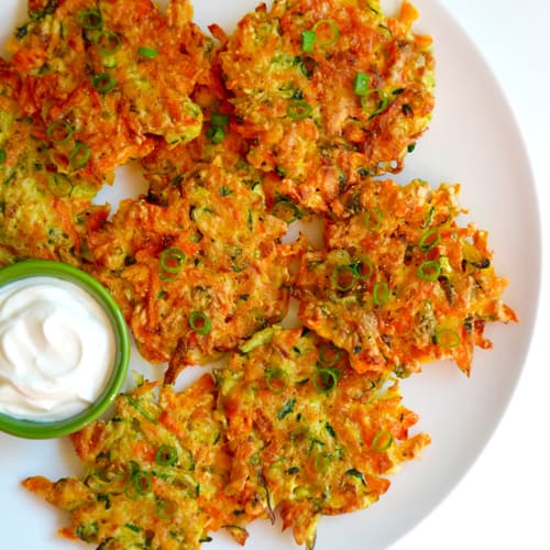 Quick and Crispy Veggie Fritters