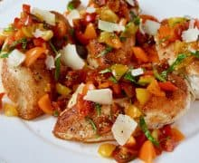 Quick Bruschetta Chicken