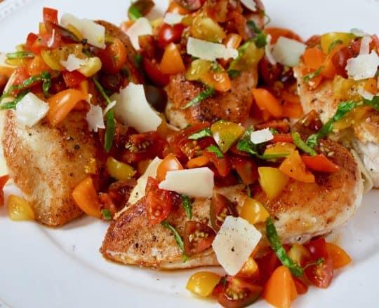 Quick Bruschetta Chicken
