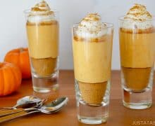 No-Bake Pumpkin Cheesecake Parfaits