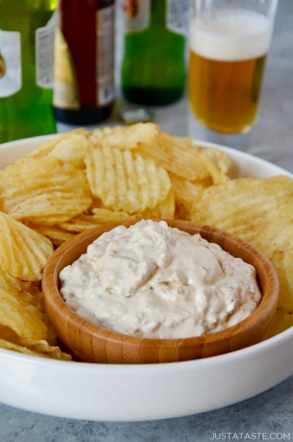 Homemade Sour Cream And Onion Dip Just A Taste