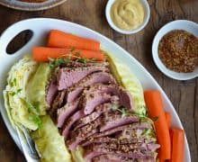 The Best Slow Cooker Corned Beef and Cabbage