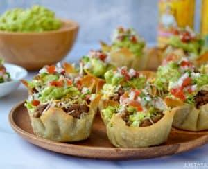 Easy Taco Salad Cups
