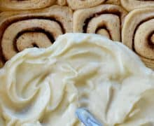 Make-Ahead Cinnamon Rolls with Cream Cheese Frosting