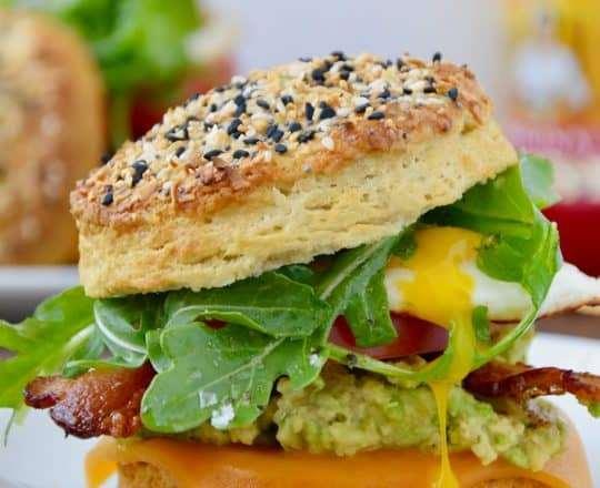 The Ultimate Biscuit Breakfast Sandwich