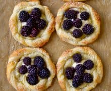 Blackberry Cream Cheese Pastries