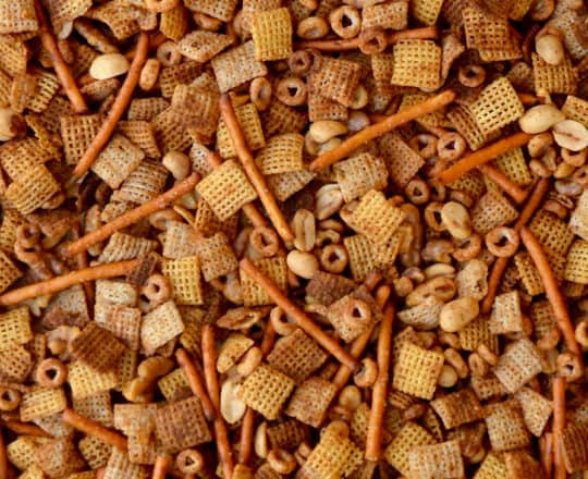 Homemade Chex Mix (Slow Cooker or Oven)